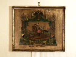 1884 Obsit Kép Balázs Dániel Elbocsátó Katonai Levél Szolgálati Időm Emlékéül