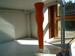 Muránói Carlo Moretti-Óriás- rétegelt üveg váza-40 cm