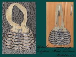 Kézműves női táska