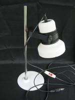 Retro fém hódmezővásárhelyi asztali lámpa