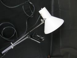 Retro szarvasi fém asztali lámpa állítható rögzíthető műhelylámpa
