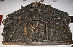 Viasz Betlehem  régi viasz kép  3.3 kg