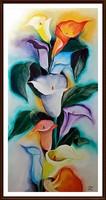 Cinnabar - love kala (60 x 30, oil, directly from the artist)