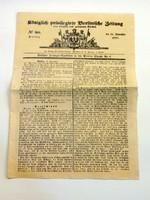 Külföldi újság 1850 RÉGI ÚJSÁG844