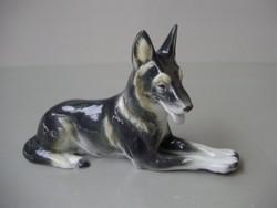 Nagyon ritka Metzler&Ortloff fekvő németjuhász kutya