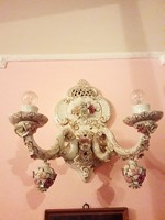 Barokk díszes falikarok