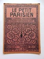 LE PETIT PARISIEN1912március28RÉGI ÚJSÁG324