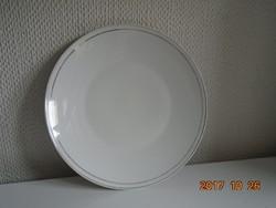 Rosenthal ezüst csíkos tál-24,7 cm