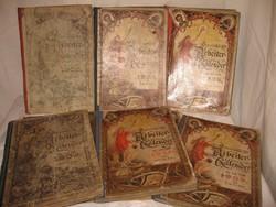 Könyv - 8 db - Osztrák Arbeiter Kalendárium 1902 - 3 - 4 - 5 - 6 - 7 - 9 -10   8 db