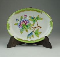 0P308 Viktória mintás Herendi porcelán hamutál