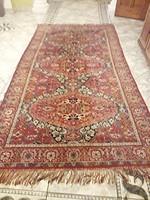 Perzsa mokett szőnyeg vékony! 270x145 cm + rojt 10 cm