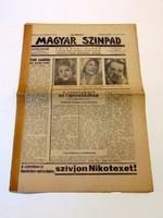 MAGYAR SZÍNPAD1940december1824RÉGI ÚJSÁG1002