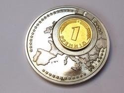 EU emlékérme, 1 pfennig