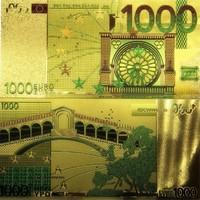 EXTRA  SZÉP ARANYOZOTT 1000 EURO
