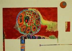 Magyar művész, 1970 körül : Könyvillusztráció