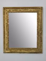 Aprólékos barokk mintával díszített tükör