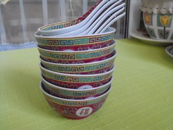 Kínai rizses tálak - különleges színben