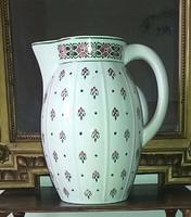 Gyönyörű 29cm Gránit mosdó Kancsó jelzett számozott.