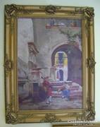 Vízkeleti Witman Etelka (1882-1962) Spanyol szerenád
