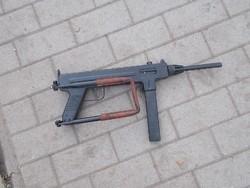 Ritka Madsen géppisztoly (puska) hatástalanítva