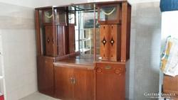Szecessziós tálaló szekrény