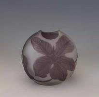 Émile Gallé kis szecessziós váza
