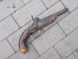 Eredeti lovassági hadipisztoly pisztoly 1800 eleje