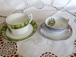 2 db kávéscsésze finom porcelánból