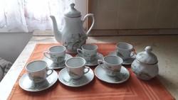 Antik porcelán kávéskészlet eladó!
