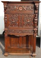 Gyönyörű antik reneszánsz kabinetszekrény!