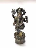 Kisméretű Ganésa szobor,miniatűr.