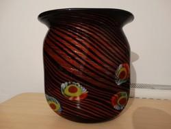 Oriási méretű sok rétegű muránoi exkluziv váza  !