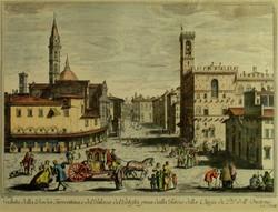 Locchi Jos. rajza után : Városkép, Fiorentina