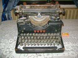 Antik TORPEDO 6 írógép - ritka márka