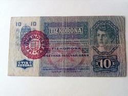 1915-ös 10 Korona F