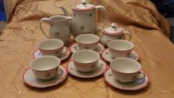 Cseszlovák teás vagy kappucinós készlet