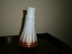 ZSOLNAY régi pajzs jelzéssel porcelán gyertyatartó