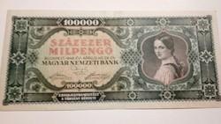 1946-os 100000 Milpengő EF