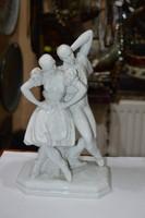 Herendi táncoló páros figura