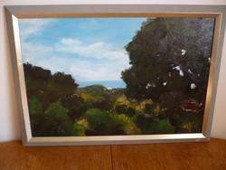 Ruth Boon holland festő egyik tájképe