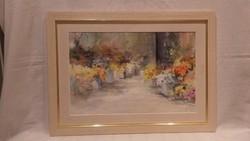 Vajnai Irina festmény , virágok