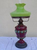 Szecessziós petróleum lámpa