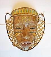 Gál Béla keramikus - Afrikai fej fali dísz