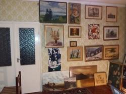 Festmény gyűjtemény eladó