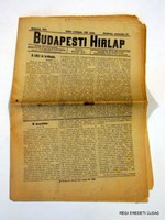 BUDAPESTI HIRLAP 1915 augusztus 22 1506