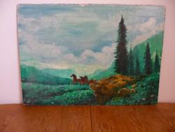 Osztrák hagyatékból ismeretlen festő egyik képe