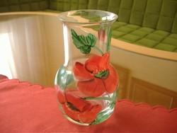 Gyönyörű virágmintás váza