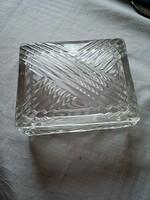 Fedeles üveg doboz tartó