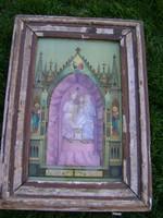 Antik házi oltár cc 1880