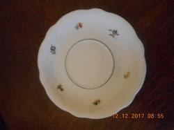 Régi Zsolnay porcelán teás kistányér pótlásnak. Pajzspecsétes